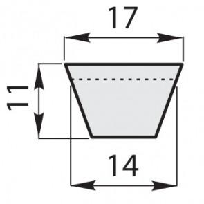 Ремень приводной клиновый классический B-100/2540