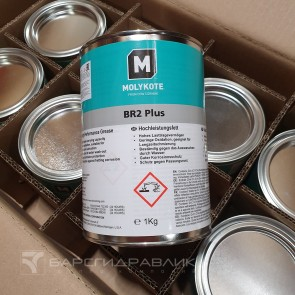 Пластичная смазка Molykote BR2 Plus 1кг