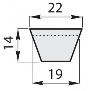 Ремень приводной клиновый классический C-132/3350