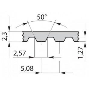 Ремень приводной зубчатый 170XL037